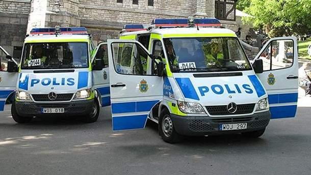 Взрыв в Швеции