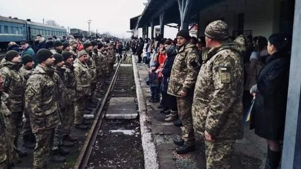 Бойцы Закарпатского легиона покинули зону АТО