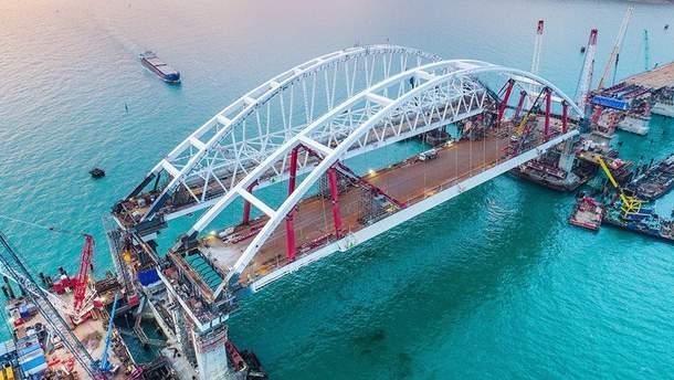 На Керченському мості встановлюють майже 800 антисейсмічних пристроїв