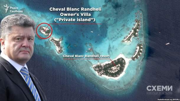 Отдых Порошенко на Мальдивах