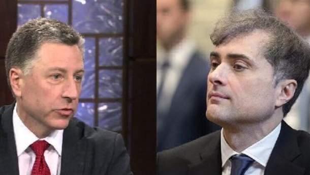 Встреча Волкера и Суркова состоится в ближайшие дни