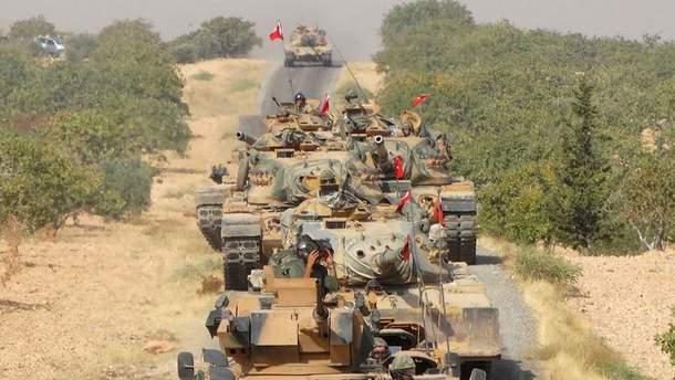 Турция начала в Сирии спецоперацию против курдских формирований