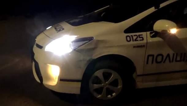 ДТП с участием патрульных полиции в Запорожье