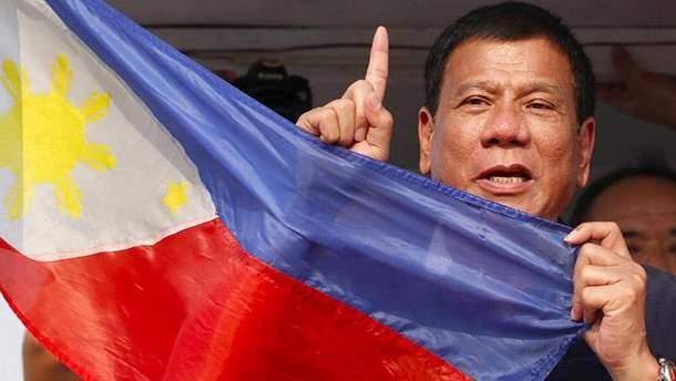 Президент Філіппін Родріго Дутерте