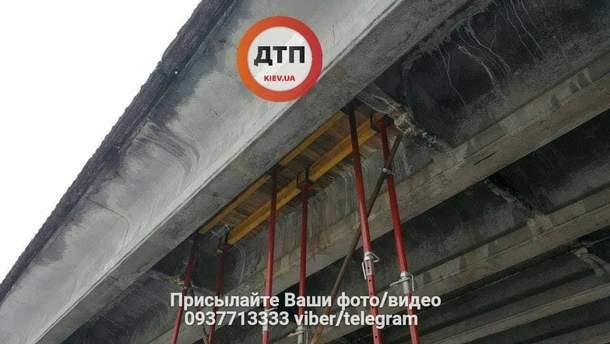 Пошкодження шляхопроводу