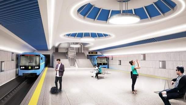 Будущая станция метро Виноградарь