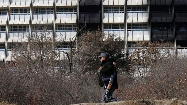 Отель Intercontinental в Кабуле после террористического нападения