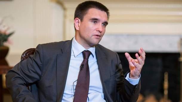Клімкін відреагував на пропозицію повернути Росію у ПАРЄ