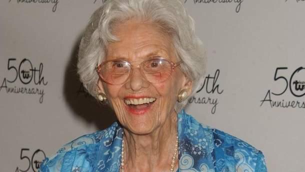 Умерла самая старая актриса Голливуда Конни Сойер