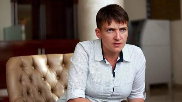 Савченко заявила, что закон ее имени установил много справедливости