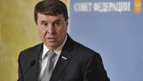 Цеков заявил, что Украина в любом случае заберет военную технику из Крыма