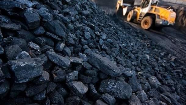 Уголь с Донбасса