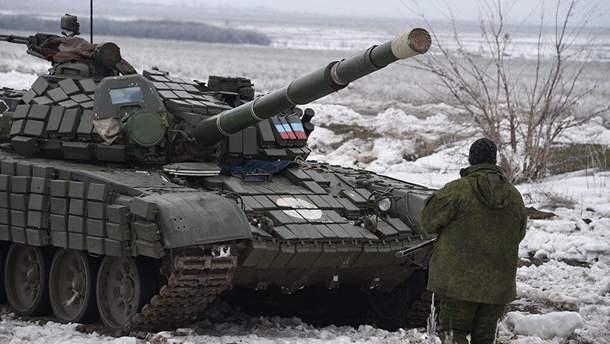 Боевики на Донбассе остались без зимней одежды