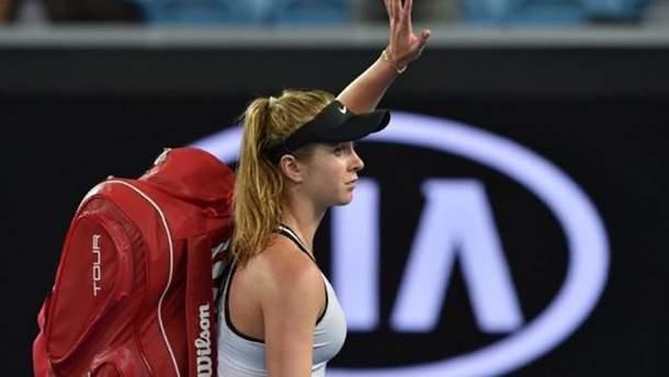 Свитолина прокомментировала поражение на Australian Open-2018