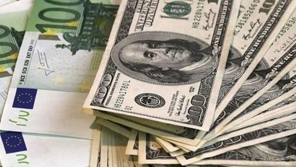 Курс валют НБУ на 24 января