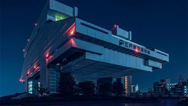 """Фотограф снял архитектуру Токио в стиле фильма """"Бегущий по лезвию"""""""