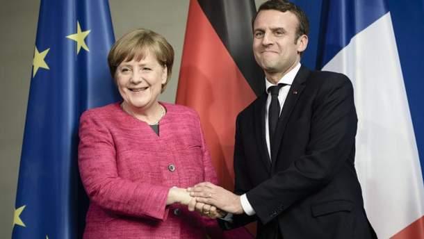 Меркель и Макрона подписали новый Елисейский договор