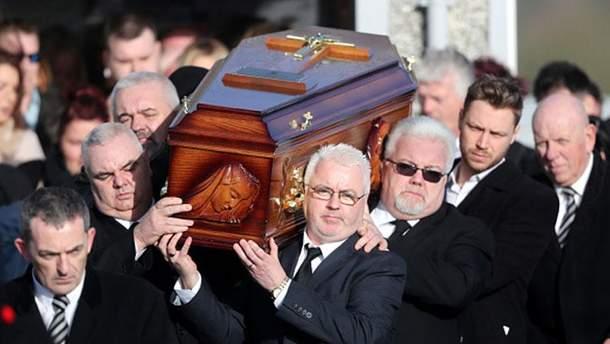 Долорес О'Ріордан померла 15 січні 2018 року