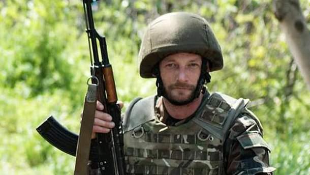 Убитый солдат АТО Мик Алпс