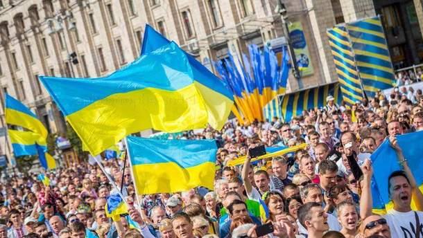 Населення України скорочується