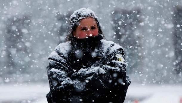 Украину ожидают сильные морозы