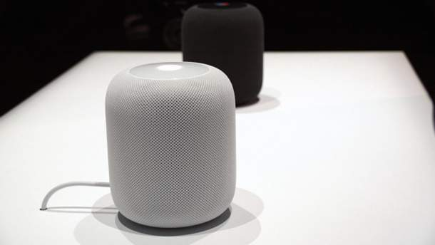 """Apple випустила """"розумну"""" колонку HomePod"""