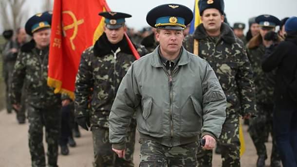 Юлій Мамчур під час анексії Криму
