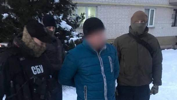 Задержанный полицейский из Борисполя