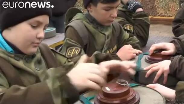 Сюжет Euronews из аннексированного Крыма
