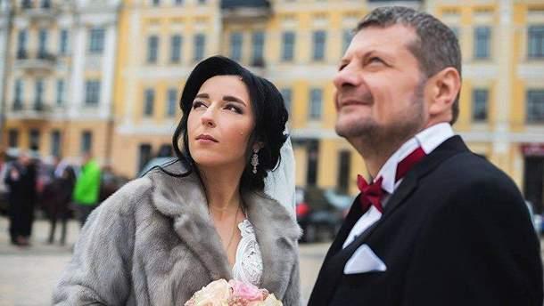 Мосийчук с женой живет в доме своего водителя