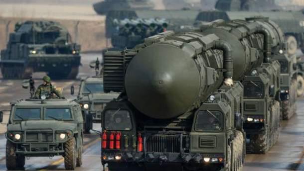 У США занепокоєні нарощуванням ядерного потенціалу, яке демонструє Росія