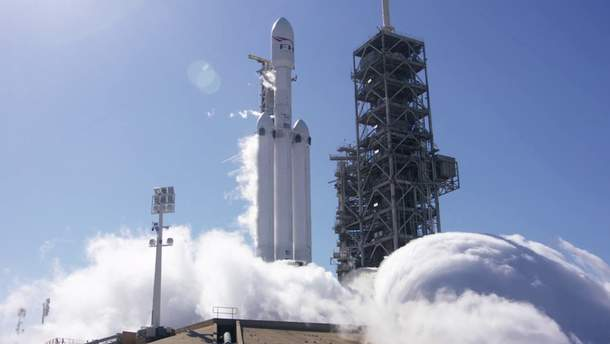 Ракета Falcon Heavy прошла успешное испытание