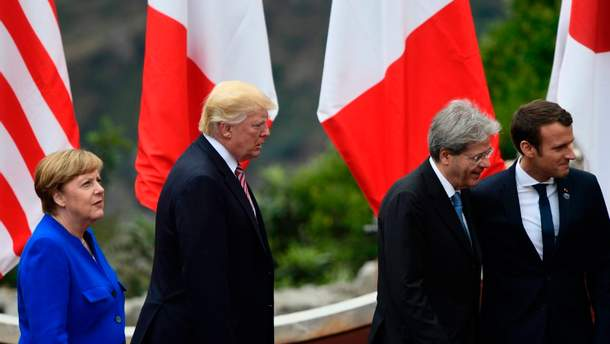 Лідери трьох країн ЄС  під час форуму у Давосі розкритикували політику Трампа