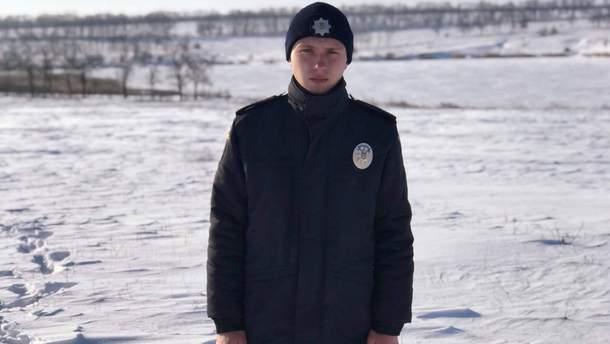 Артем Каверін врятував життя рибалкам, що провалилися під лід