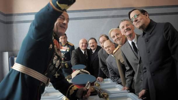 """Фільм """"Смерть Сталіна"""" зняли з прокату: дотепні карикатури"""
