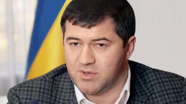 Відсторонений очільник Державної фіскальної служба Роман Насіров