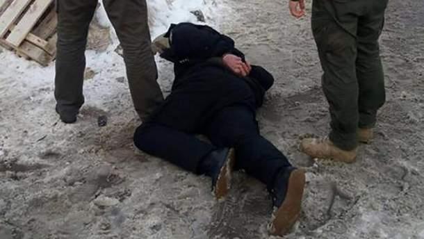 Затримання полковника поліції на Житомирщині