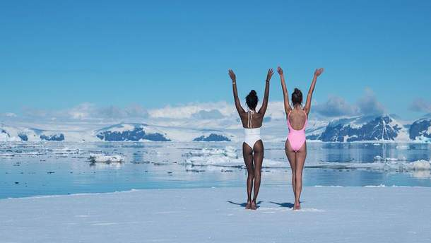 Экстремальная съемка моделей Victoria's Secret