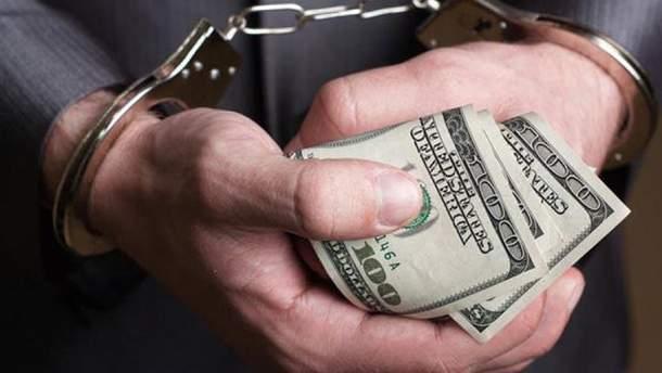 Антикоррупционера задержали на взятке