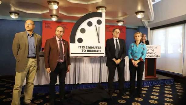 Годинник судного дня показує дві хвилини до півночі – кінця світу