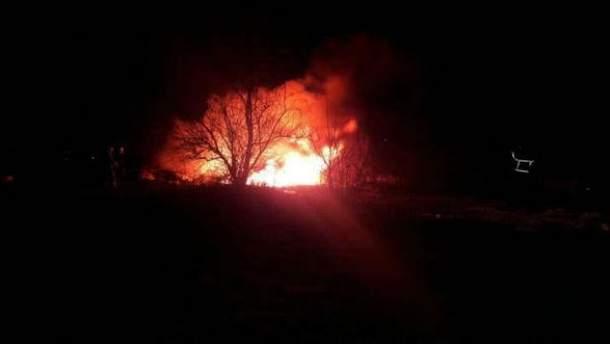 Авария вертолета в Кременчуге