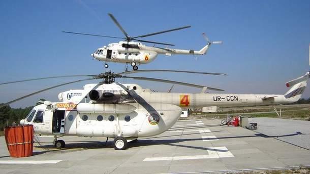 Авария с вертолетом в Кременчуге