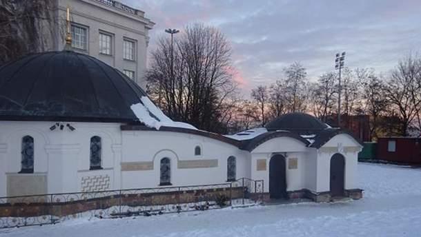 Так называемый Десятинный монастырь в Киеве