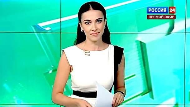 Наиля Аскер-заде работает на главний рупор кремлевской пропаганды