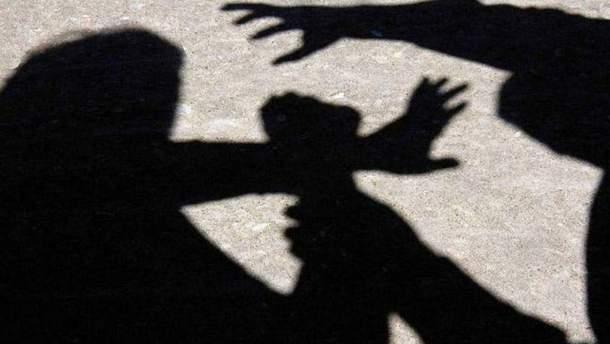 Нападение на женщин в Киеве