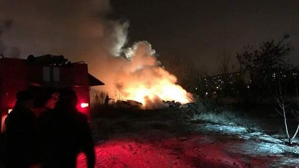 Катастрофа вертолета в Кременчуге
