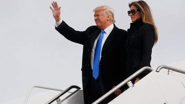 Жена Дональда Трампа Мелания отказалась ехать на форум в Давос