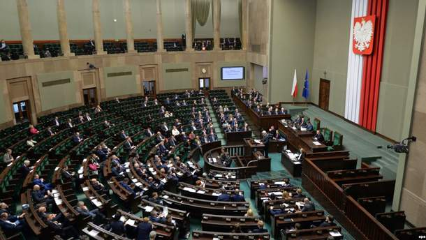 Сейм Польщі ввів кримінальну відповідальність за пропагування українського націоналізму