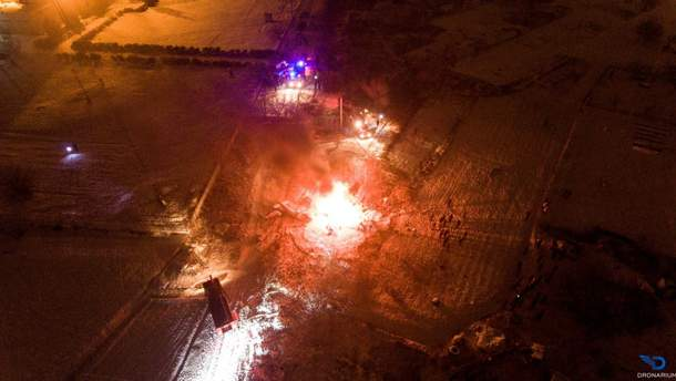 Аварія гелікоптера в Кременчуці