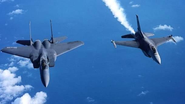 Истребители НАТО поднимались в небо над Балтикой